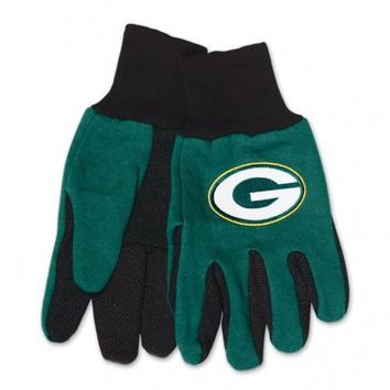 Green Bay Packers - Adult Two-Tone Sport Utility Gloves
