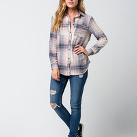 FULL TILT Make Me Blush Womens Flannel Shirt | Flannels $15.99