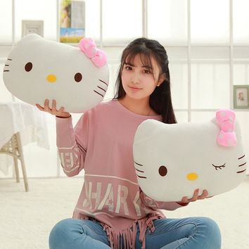 1Pc 40cm Cute Lovely Juguetes Pillow Soft Stuffed  Japan Hello Kitty  Plush Toys Cushion Soft Toy For Kid Girl's Gifts