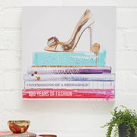 Confessions Shopaholic Canvas Art