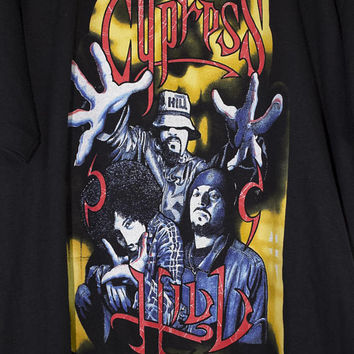 CYPRESS HILL shirt - vintage - deadstock - raptees - the cypress hill experience - step into a whole new realm