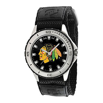 Mens Nhl Chicago Blackhawks Veteran Watch, Best Quality Free Gift Box Satisfaction Guaranteed