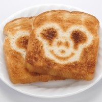 Disney DCM-2 Classic Mickey 2-Slice Toaster, Stainless Steel