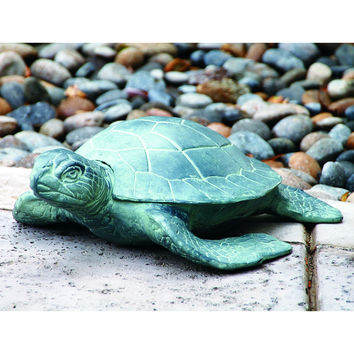 SPI Garden Collection Aluminum Garden Turtle