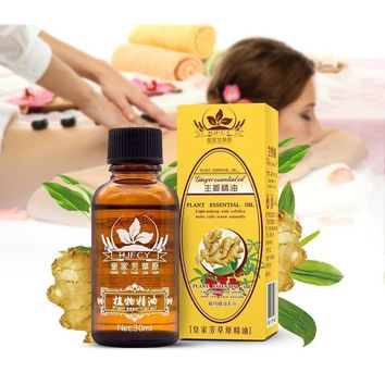 Lymphatic Drainage Ginger Massage Oil
