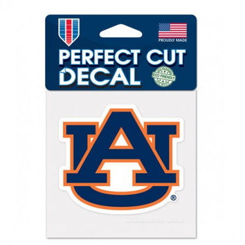 Auburn Tigers Decal 4x4 Perfect Cut Color