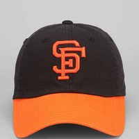 American Needle San Francisco Giants Bleacher Seat Strap-Back Hat- Black One