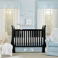 Wendy Bellissimo Walk With Me 4-pc. Crib Set (Blue/White)