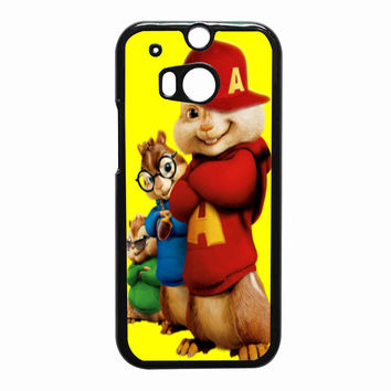 Alvin and The Chipmunks 668498cc-90a7-4e35-800c-9c70b882a1d9 FOR HTC One M8 CASE *PS*