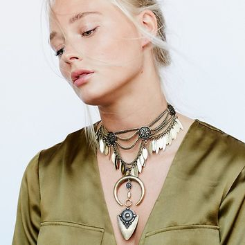 Free People Bandito Metal Collar