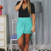 Spin Doctor Skirt - Seafoam