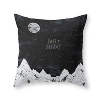 Society6 SWEET DREAMS Throw Pillow