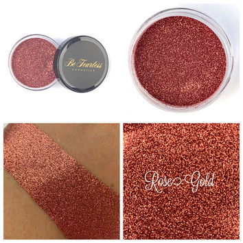 Rose Gold - Cosmetic Glitter, Loose Glitter