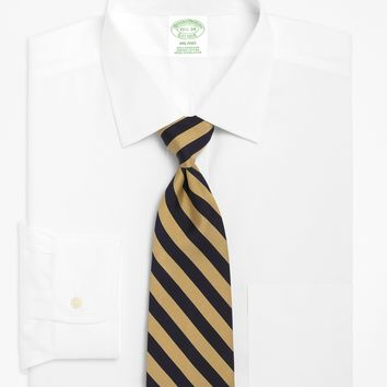 Men's Extra-Slim Fit Spread Collar White Dress Shirt | Brooks Brothers