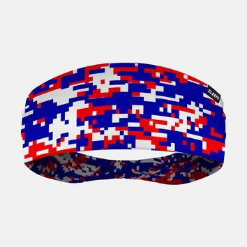 Digital Camo USA Flag Headband