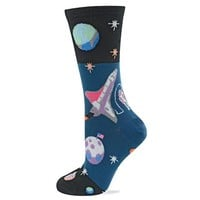 Hot Sox Outer Space Crew Sock