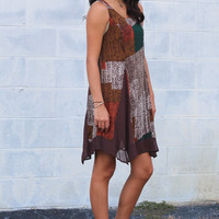 Changing Colors Dress {Brown Mix}