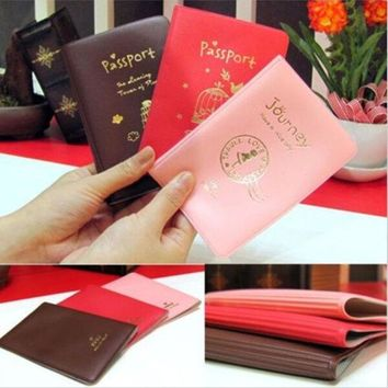 ICIK272 Holder Credit Card new Clutch case for passport Ticket ID& Document Travel Cover Protector travel accessories passport case