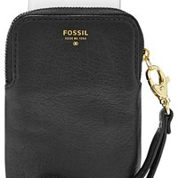 Fossil Leather Phone Wristlet   Nordstrom