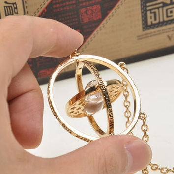 Gold Hourglass Harry Potter Time Turner