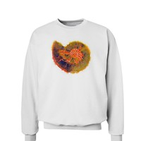 Nautilus Fossil Watercolor Sweatshirt