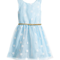 H&M - Organza Dress - Light blue - Kids