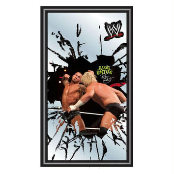 WWE Randy Orton Framed Logo Mirror