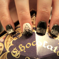 20 - Triad Band Logo Water Slide Nail Decals