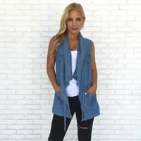 Keep it Real Denim Vest