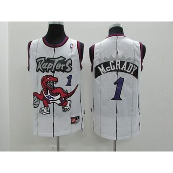 Toronto Raptors #1 Tracy McGrady Retro Swingman Jersey