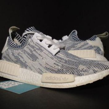 ADIDAS NMD R1 PK PRIMEKNIT CAMO PACK GLITCH OREO GREY BLACK CREAM BA8600 XR1 10
