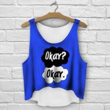 Multicolor 3D Print women tank tops & camis printed sleeveless vest girls summer short crop tops irregular