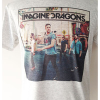Imagine Dragons Band Rock Tees T Shirt Unisex Man Women Size S,M,L