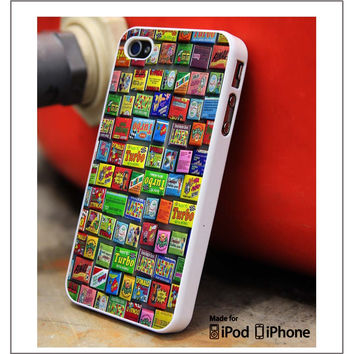 Chewing Gum iPhone 4s iPhone 5 iPhone 5s iPhone 6 case, Galaxy S3 Galaxy S4 Galaxy S5 Note 3 Note 4 case, iPod 4 5 Case