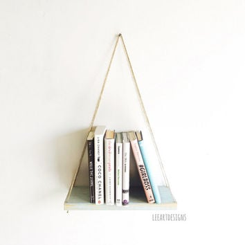 Hanging Pallet Shelf, Rustic Decor, Beach Decor, Reclaimed Wood, Home Decor, Furniture, Book Shelf, Floating Shelf, Holiday Decor