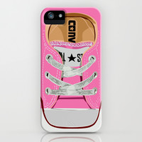 Cute converse all star pink baby shoes apple iPhone 4 4s, 5 5s 5c, iPod & samsung galaxy s4 case by Three Second