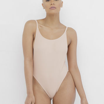 ONE DANCE ONE PIECE SWIMSUIT - NUDE