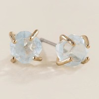 Alexia Raw Chip Stud Earring
