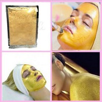 2pcs Luxury Spa Treatment Face Mask 24K Gold Collagen Powder Anti-Aging Anti-Wrinkle Moisturizing face care whitening skin care