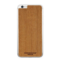 Woodchuck Mahogany Wood Skin Iphone 6/6+