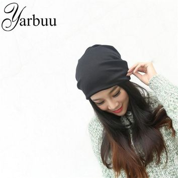 [YARBUU] Skullies & Beanies Hot Sale 2017 new Fashion hat Women winter hat knitted hat winter hat knitted women's caps