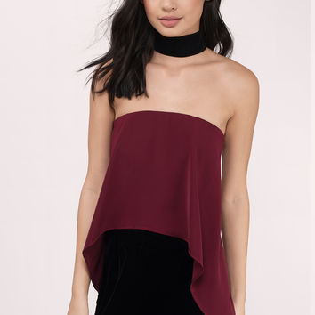 Spell Bound Strapless Top