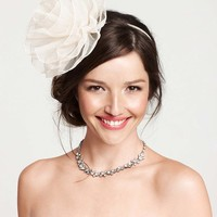 Magnolia Bloom Organza Headband