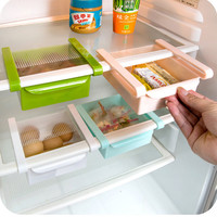Refrigerator Organizer Rack Egg Storage Basket Refrigerator Snacks Storage Box Kitchen Shelves