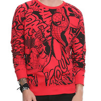 Marvel Universe Spider-Man Pullover | Hot Topic