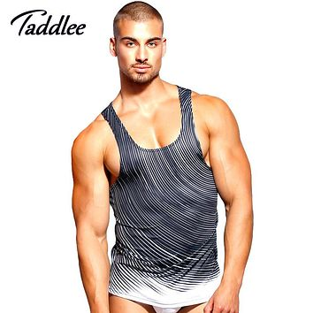 Taddlee Brand Men Tank Top Casual Fashion Top Tees Shirts Tshirt Sleeveless Sinlets Stringer Vest Gasp Fitness Tank 2017