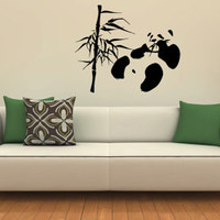 Wall Decals Vinyl Decal Sticker Wall Murals Wall Decor Panda (OS345)