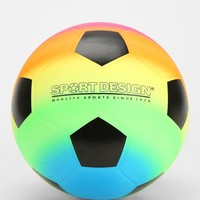 Rainbow Soccerball - Urban Outfitters