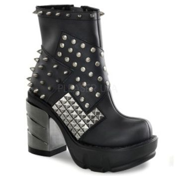 SINISTER-64 Black Boots | Boots | Column 1 | Shoes
