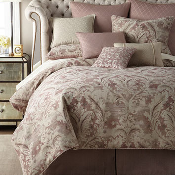 Waterford Victoria Orchid King Comforter Set and Matching Items